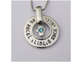 """If I Forget You Jerusalem"" Necklace"