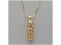 "Cylinder ""Shin"" Necklace"