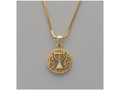 Chanukah Menorah Necklace