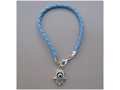 Light Blue Kabbalah Bracelet