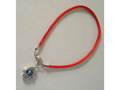 Bracelet kabala rouge avec la Hamsa