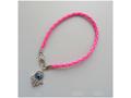 Pink Kabbalah Bracelet with Hamsa