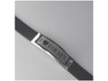 """Кожаный браслет """"Я люблю Израиль"""" на английском"""