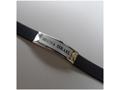 """Кожаный браслет """"Шма Исраэль"""" на английском"""