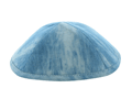 Light Blue Denim Kippah
