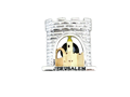Jerusalem Magnet, Polyresin