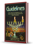 Guidelines for Chanukah (Englisch)