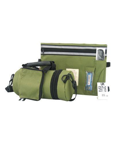 Pochette de protection thermique pour Tefilin - Vert olive foncé