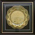 Decorative Plate - Jerusalem of Gold