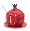 Pomegranate Shaped Honey Jar