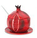Pomegranate Shaped Honey Jar