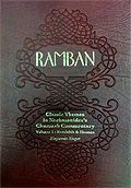 Ramban: Volume 1