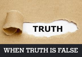 When Truth is False