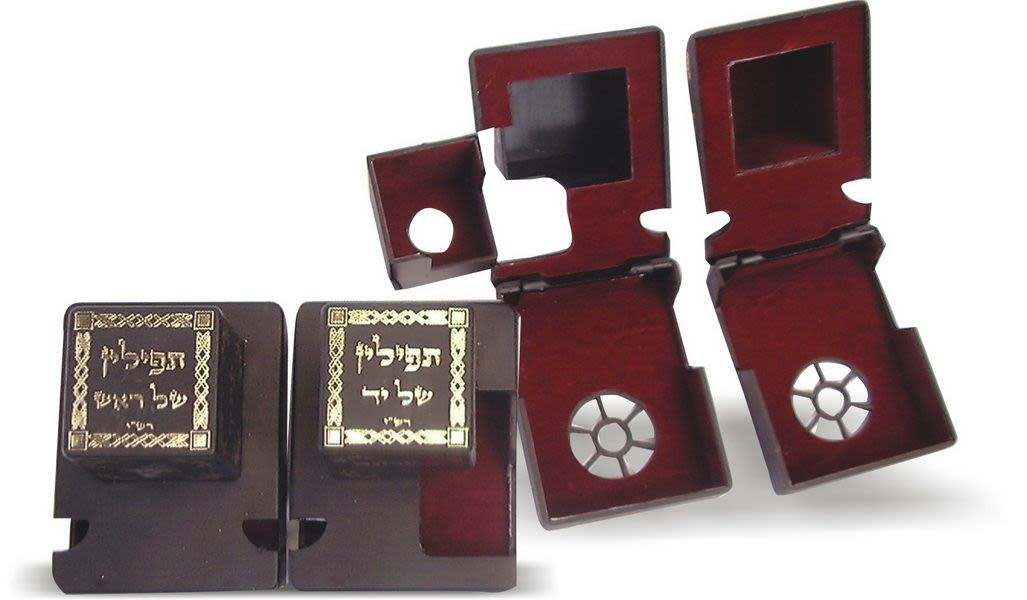 Tefillin Plastic Boxes, size 37