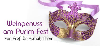 Weingenuss am Purim-Fest