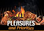 Pleasures and Priorities