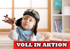 Voll in Aktion