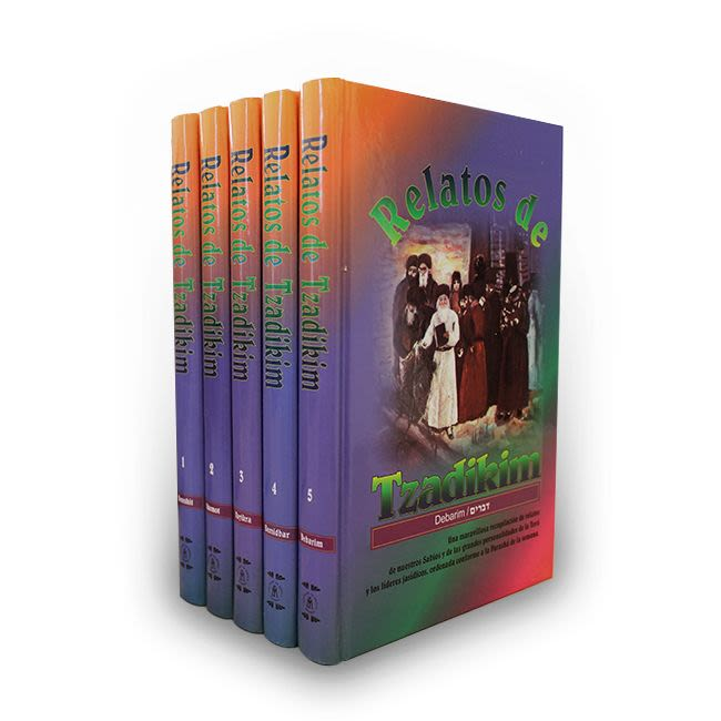 Relatos de Tzadikim (5 libros)