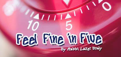 Feel Fine in Five