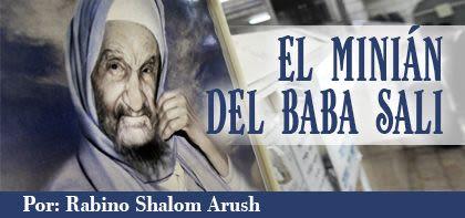 El minián del Baba Sali