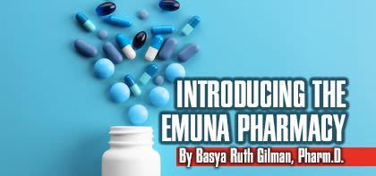 Introducing the Emuna Pharmacy