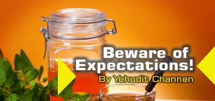 Beware of Expectations!