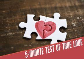 5-Minute Test of True Love