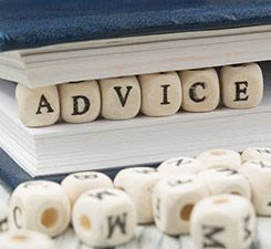 It's NOT the Advice that Helps…