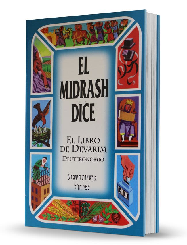 """El Midrash Dice"" - 5to Tomo - Devarim/Deuteronomio"