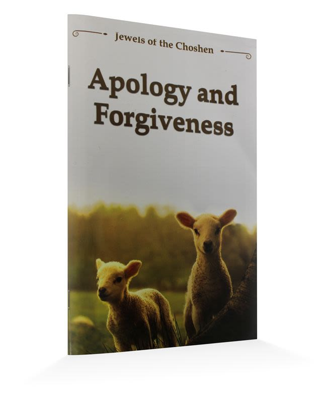 "Apology and Forgiveness - The ""Jewels of the Choshen"" series"