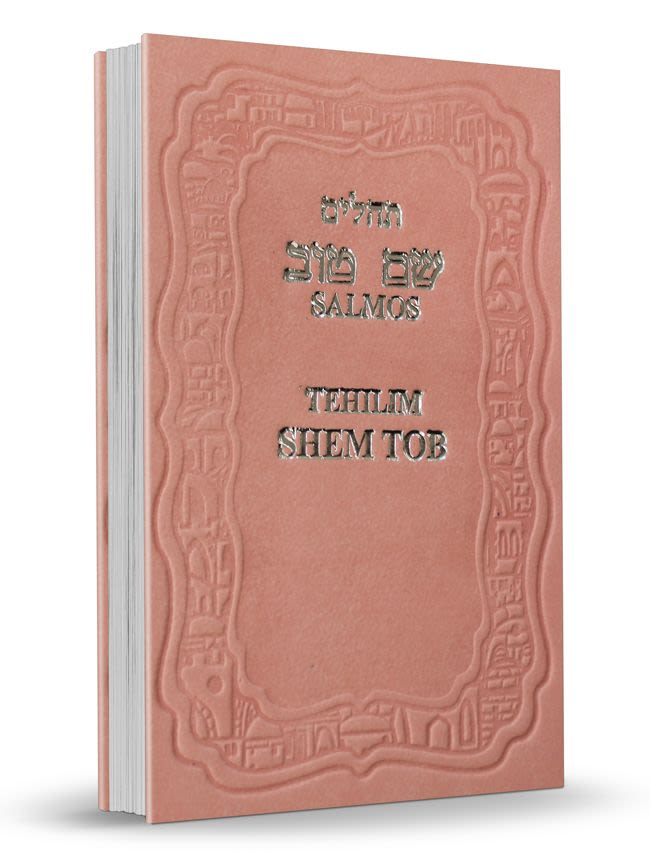 Mini Salmos Shem Tob con Fonética – tapa dura - Rosa