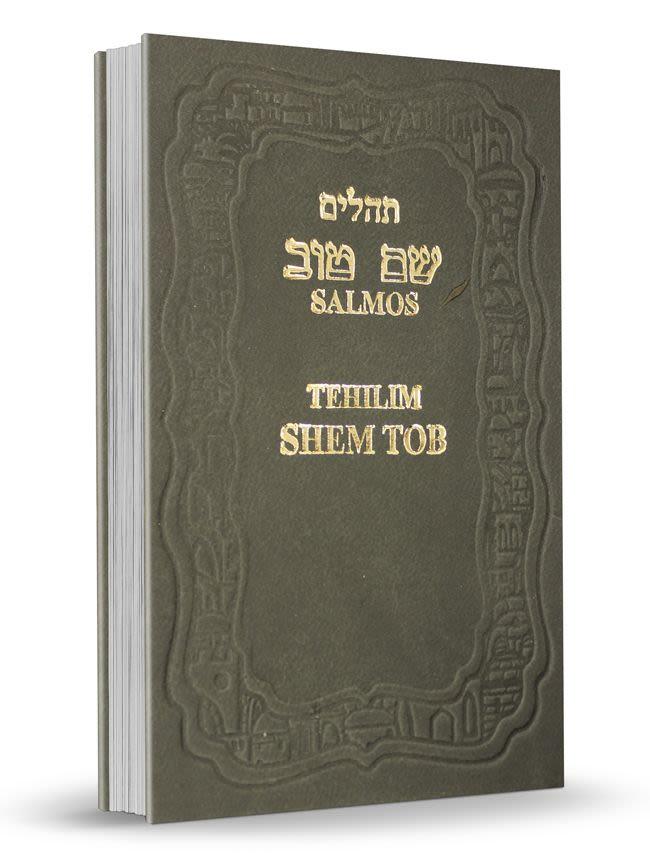 Mini Salmos Shem Tob con Fonética - tapa dura - gris oscuro