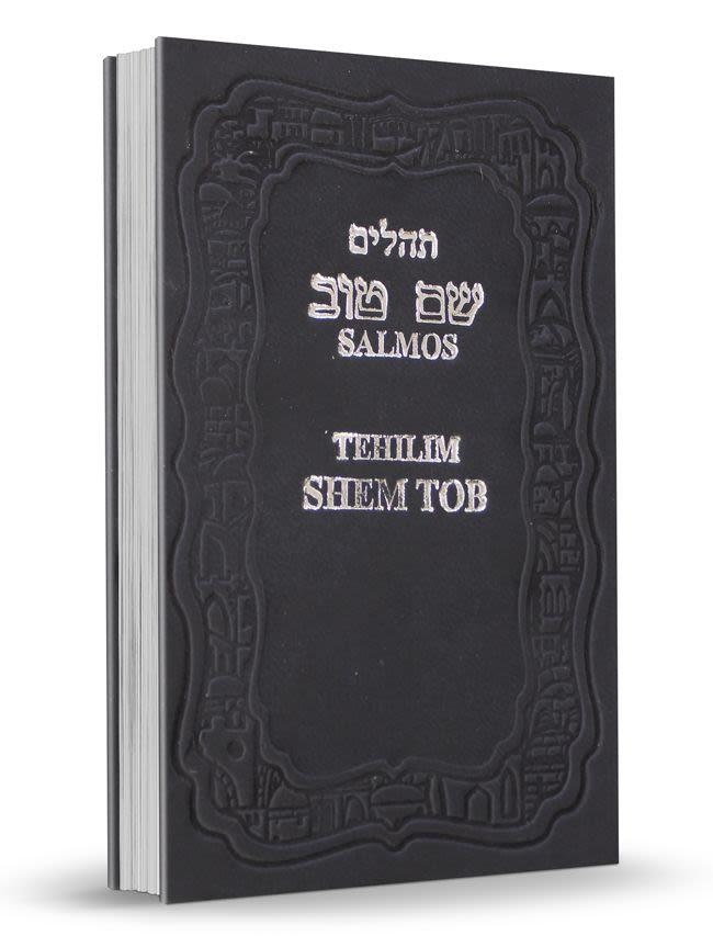 Mini Salmos Shem Tob con Fonética - tapa dura - azul
