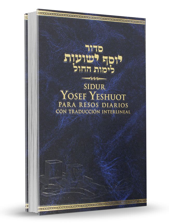Sidur Yosef Yeshuot para los Rezos Diarios