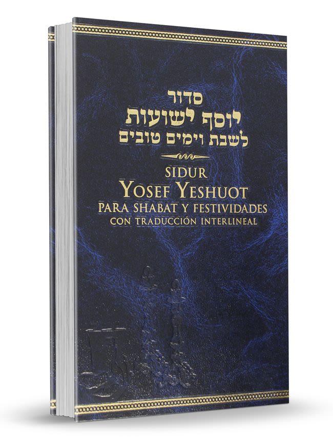 Sidur Yosef Yeshuot de Shabat y Festividades