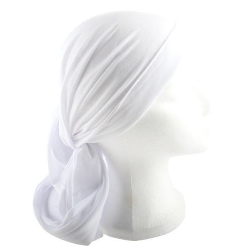 White Head Covering