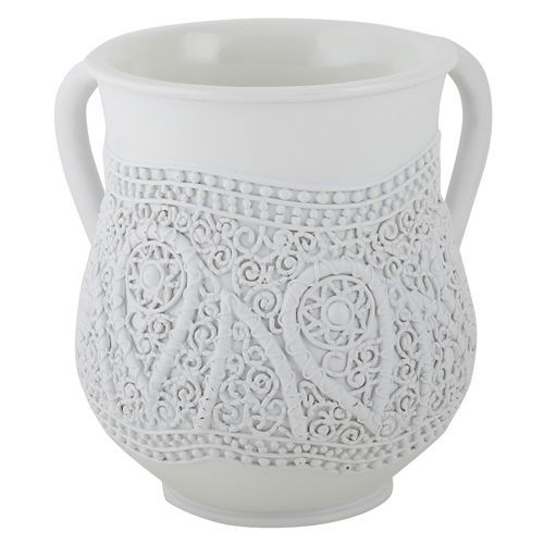 """""""Crochet"""" Classic Natla - White"""
