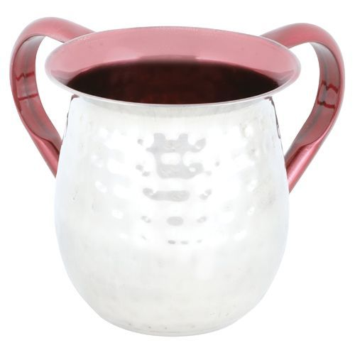 Red-colored Aluminum Washing Cup
