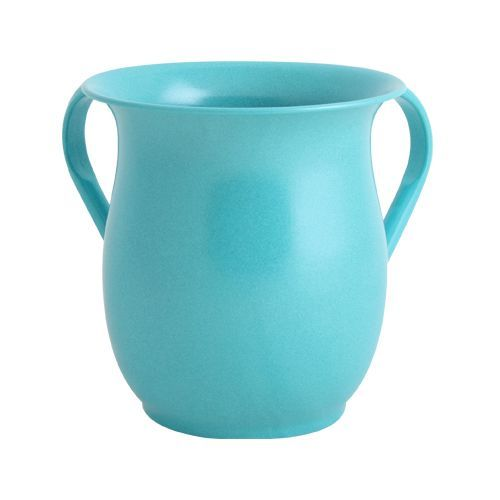 Turquoise-colored Stainless Steel Washing Cup