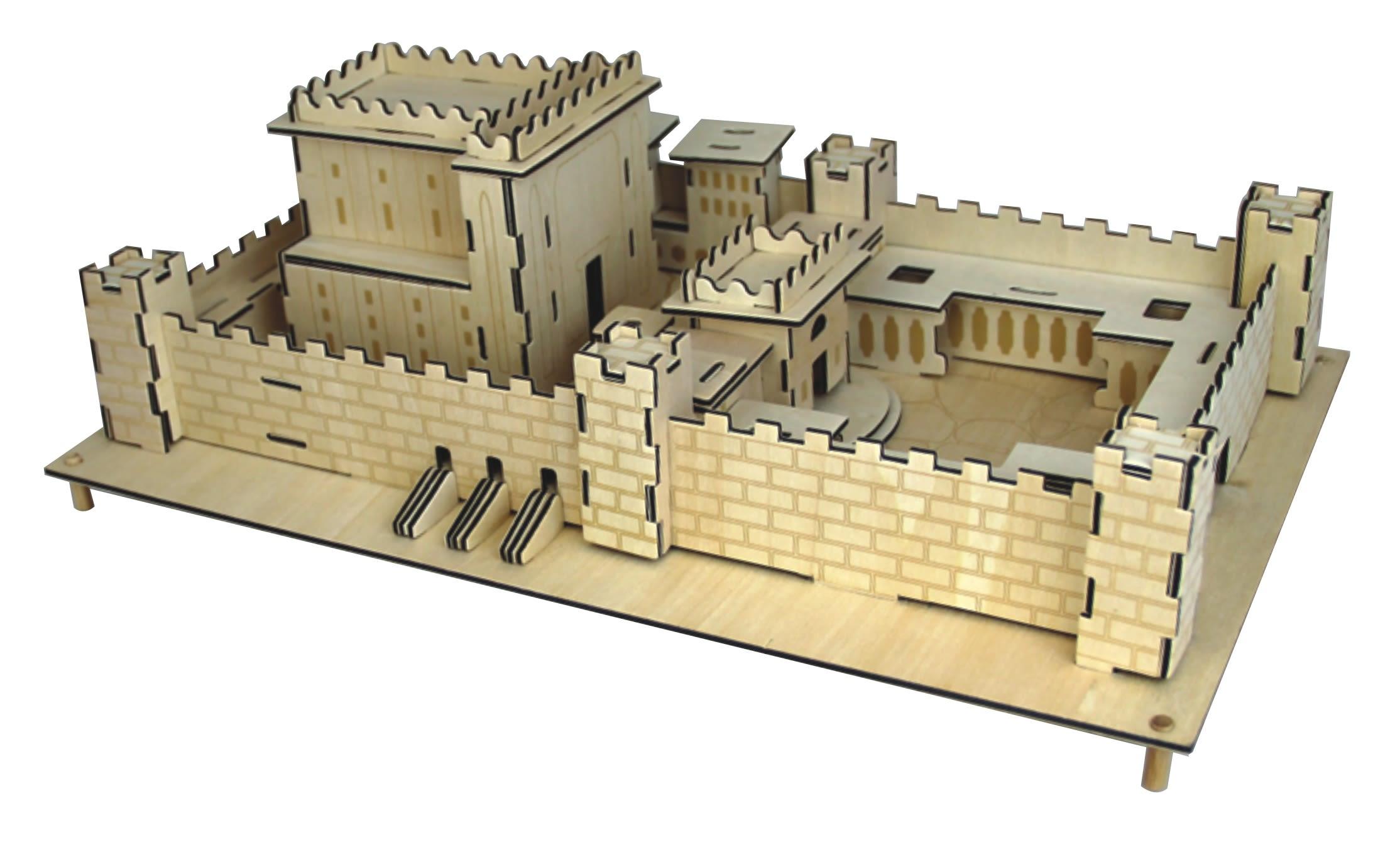 Beit HaMikdash Wooden Puzzle