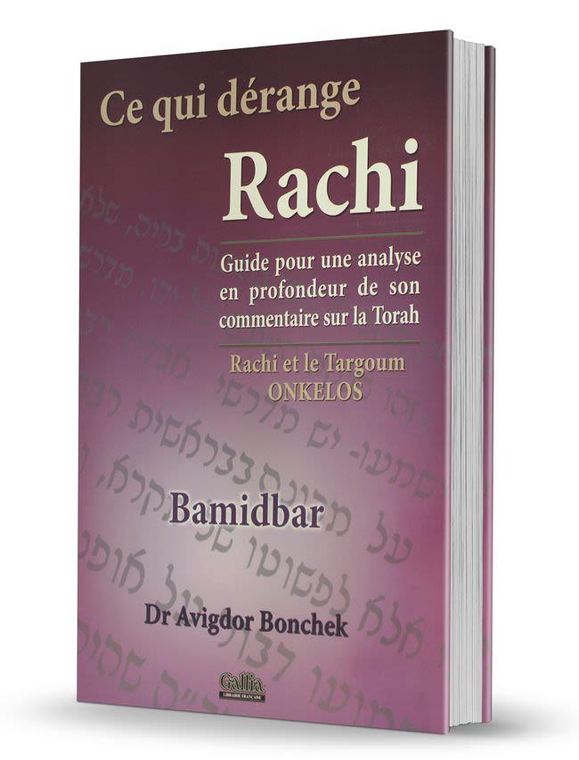 Ce qui dérange Rachi Bamidbar