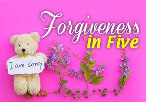 Forgiveness in Five