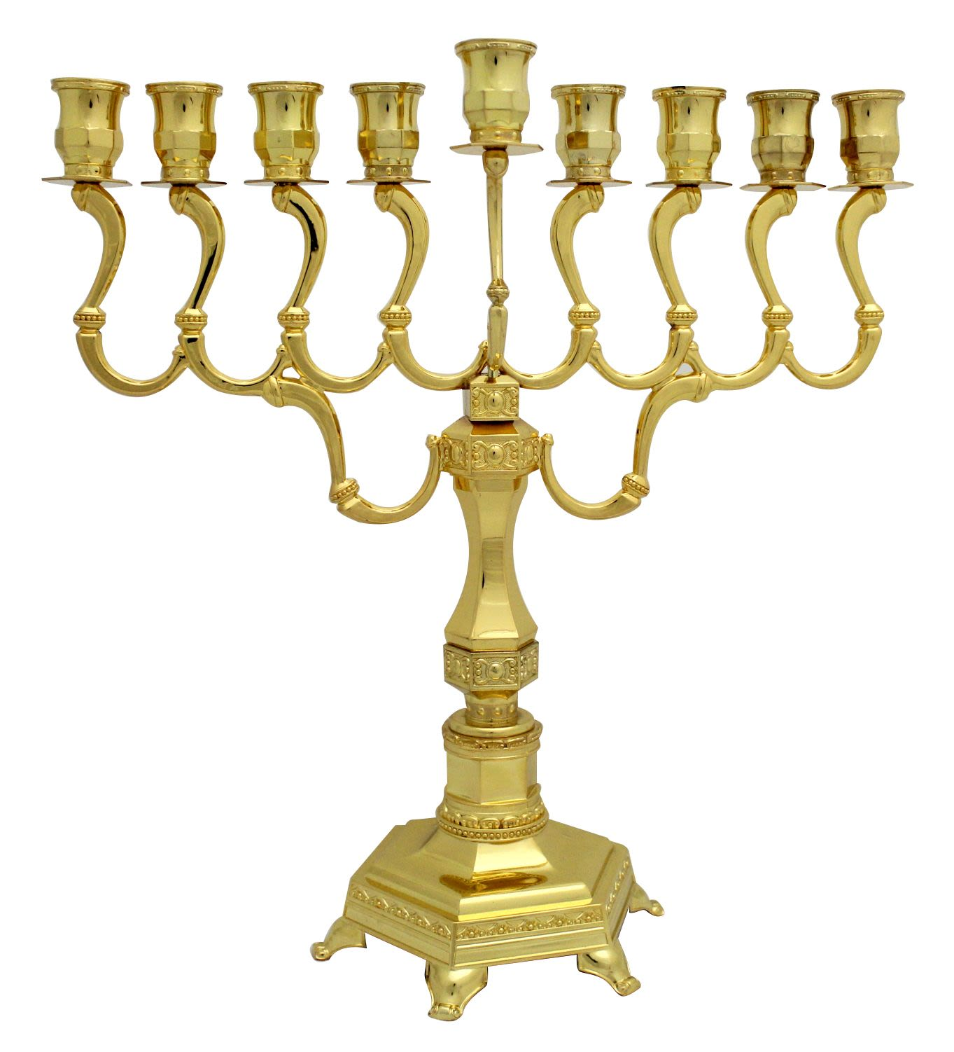 Diamond Menorah