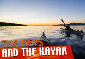 The Keys and the Kayak
