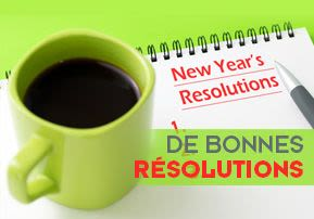 De bonnes résolutions