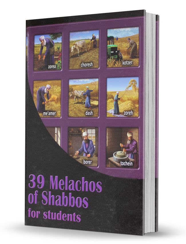 39 Melachos of Shabbos for Students