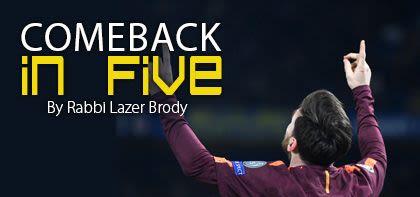 Comeback in Five