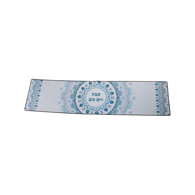 Blue and White Pomegranate Table Runner