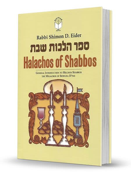 The Halachos of Shabbos