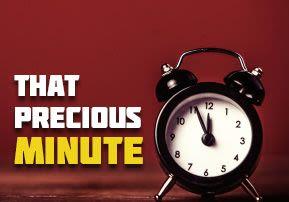 That Precious Minute